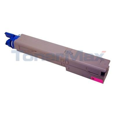 MEDIA SCIENCES TONER CARTRIDGE MAGENTA HY FOR OKIDATA C3400N 